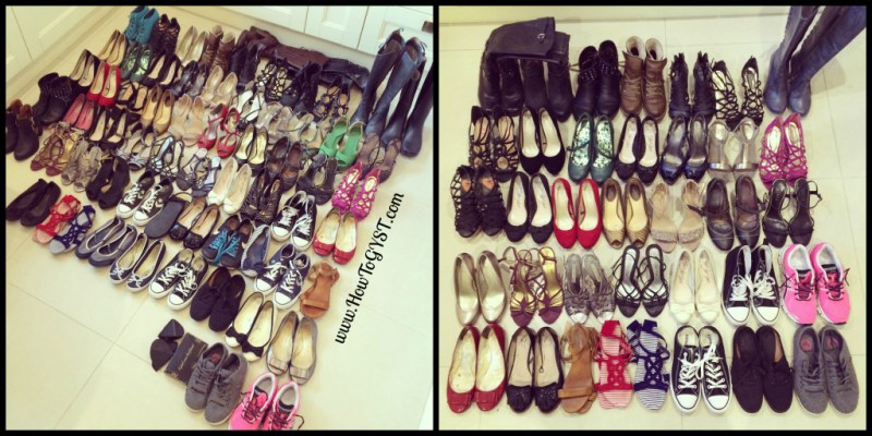 KonMari -- Clothes. Decluttering. Shoes.