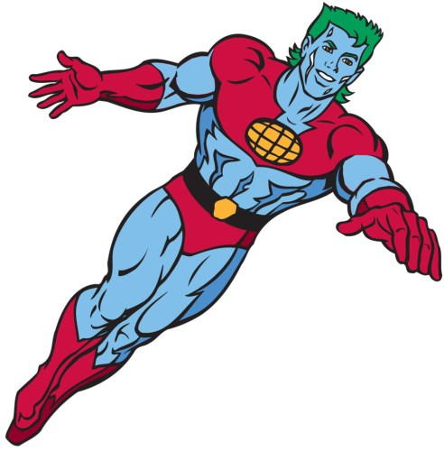 Captain Planet. How to save money on your electricity bill. Reduce pollution.