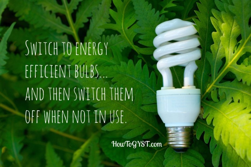 How to save money on your electricity bill. Reduce pollution. Energy efficiency. Energy efficient lightbulbs.