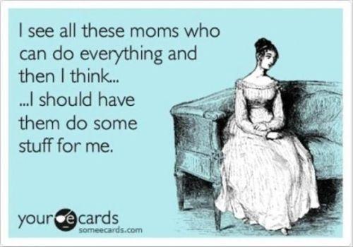 Perfection. Motherhood. Greatness.