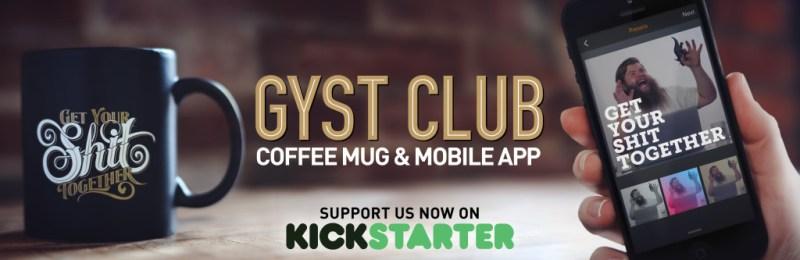 GYST Club Kickstarter banner