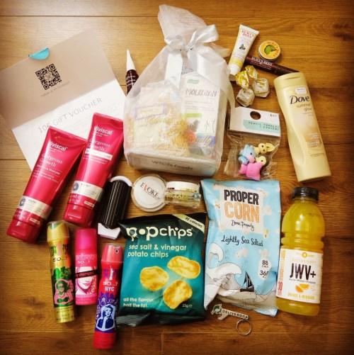 BloggerConf November 2015 goody bag