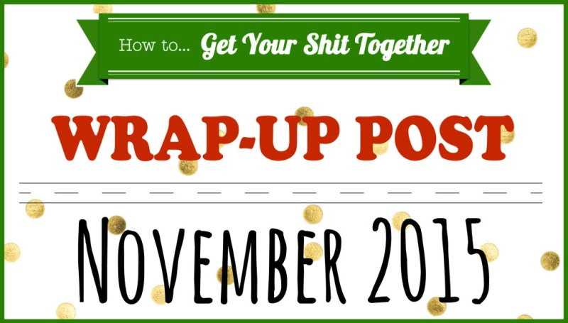 HowToGYST.com wrap-up post November 2015