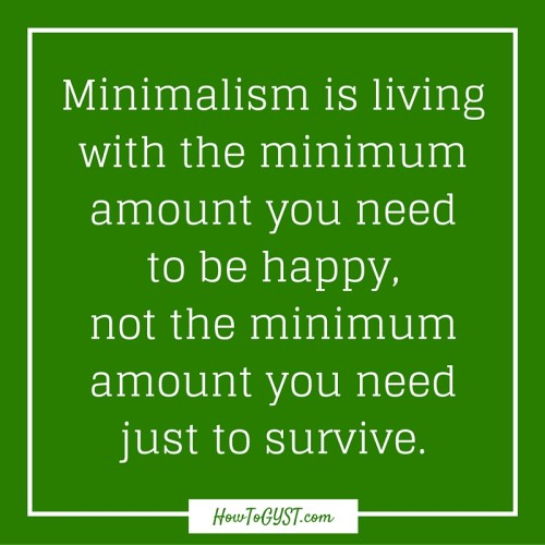 A great guide to minimalist living (even with kids and lots of stuff)
