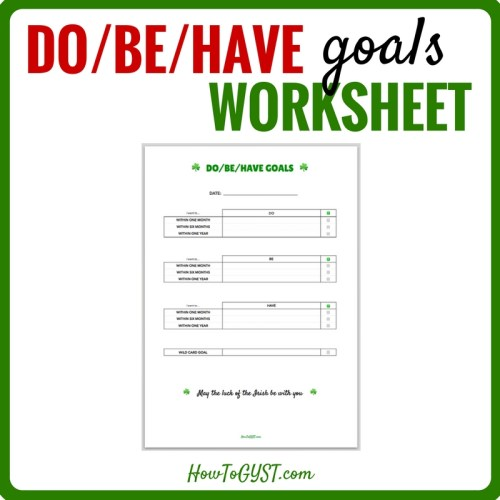 When it comes to goals, what happens when the hardest part isn't getting started, it's not even knowing where to start? Here's a simple exercise to help.