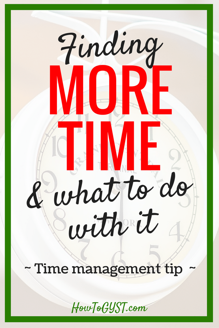 Finding more time. Productivity. Personal goals. Making time. Time management. Scheduling. Time blocking.