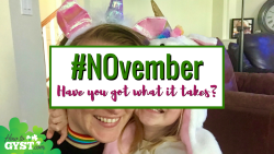 Will you join the #NOvember campaign and say NO to something negative in your life?