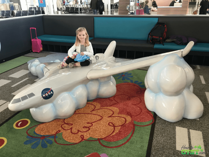 November 2017 – Scout on NASA space shuttle in Dulles airport, Washington