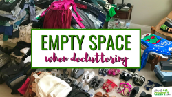 Benefits of a bare room –why to empty a space when decluttering