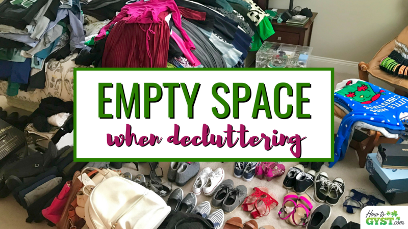 Benefits of a bare room – why to empty a space when decluttering
