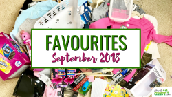 September 2018 Favourites | Everything I bought in September 2018, post KonMari Method