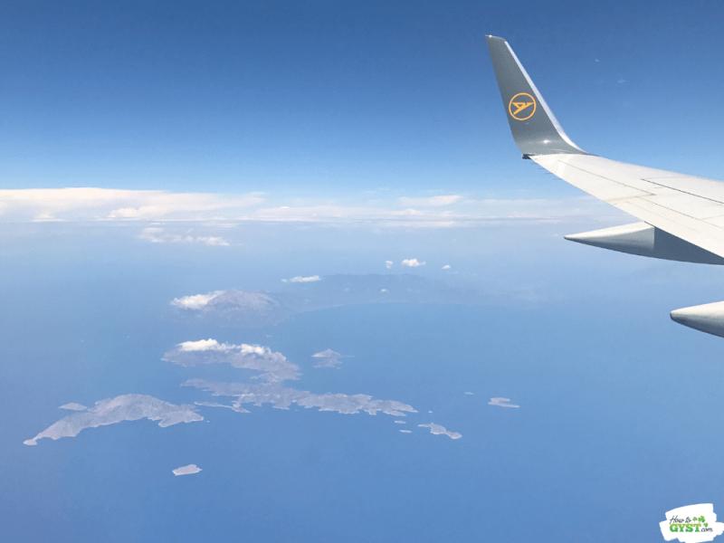 Flying Over Greek Islands | Kos, Greece