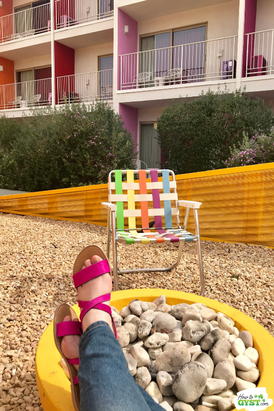 Feet Up At The Saguaro Hotel, Palm Springs | Vacation & relaxation