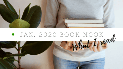 January 2020 Book Nook | Book reviews | Goodreads reading challenge 2020