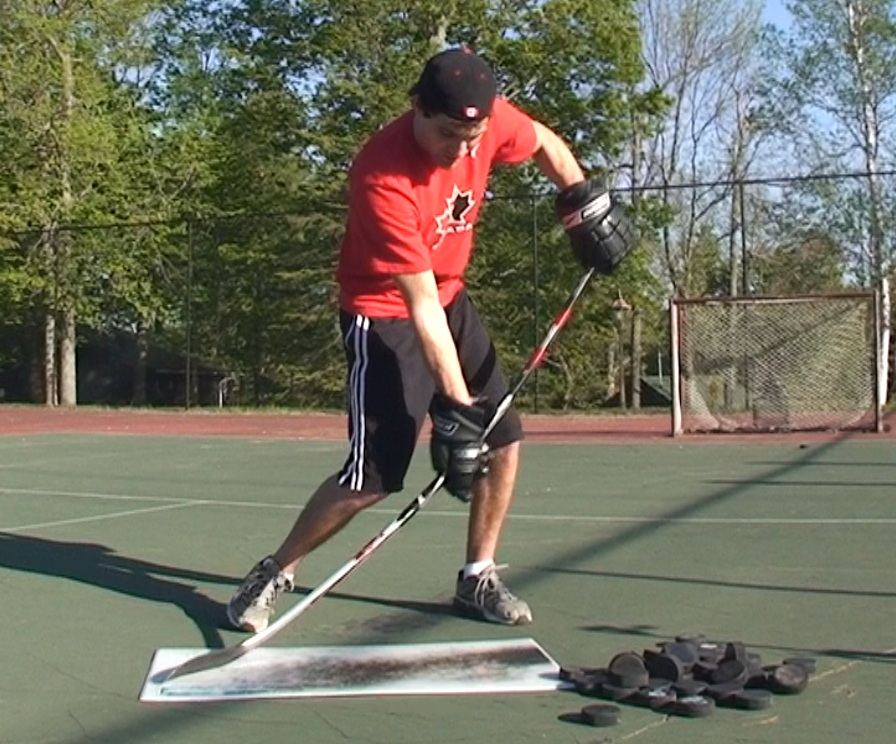 How to Improve Slapshot Power