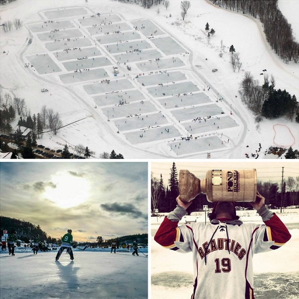 Call your friends – Pond Hockey Tourney Jan 23rd
