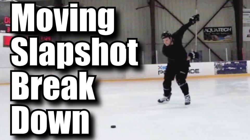 Breaking down the moving slapshot