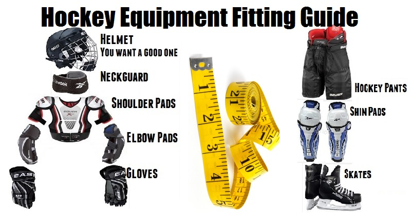 Hockey Equipment fitting guide