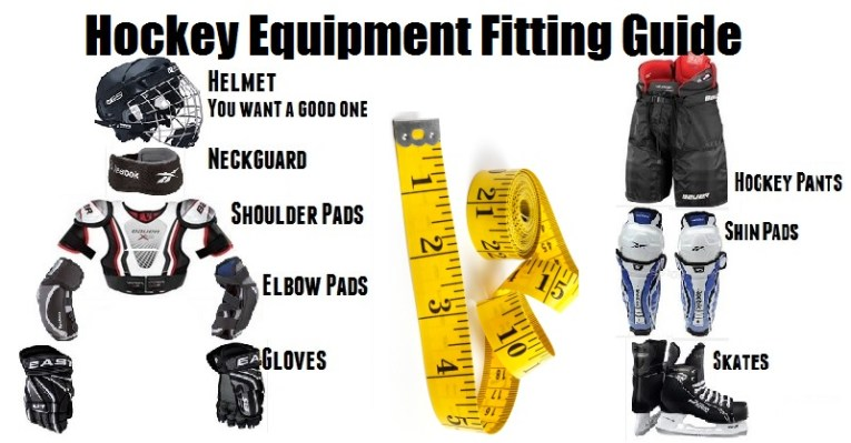 Hockey Equipment fitting guide