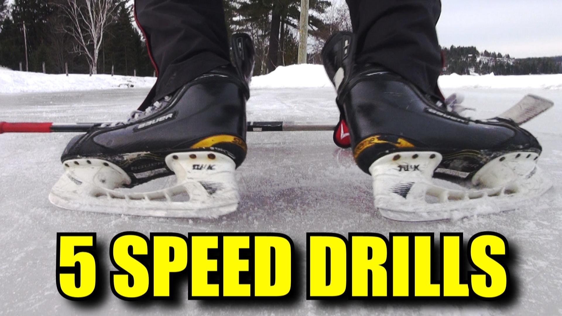 5 Hockey Drills to Improve Acceleration