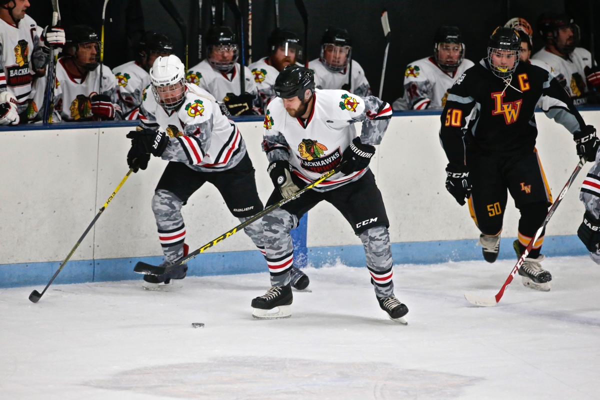 Wounded Veteran Hockey in Chicago
