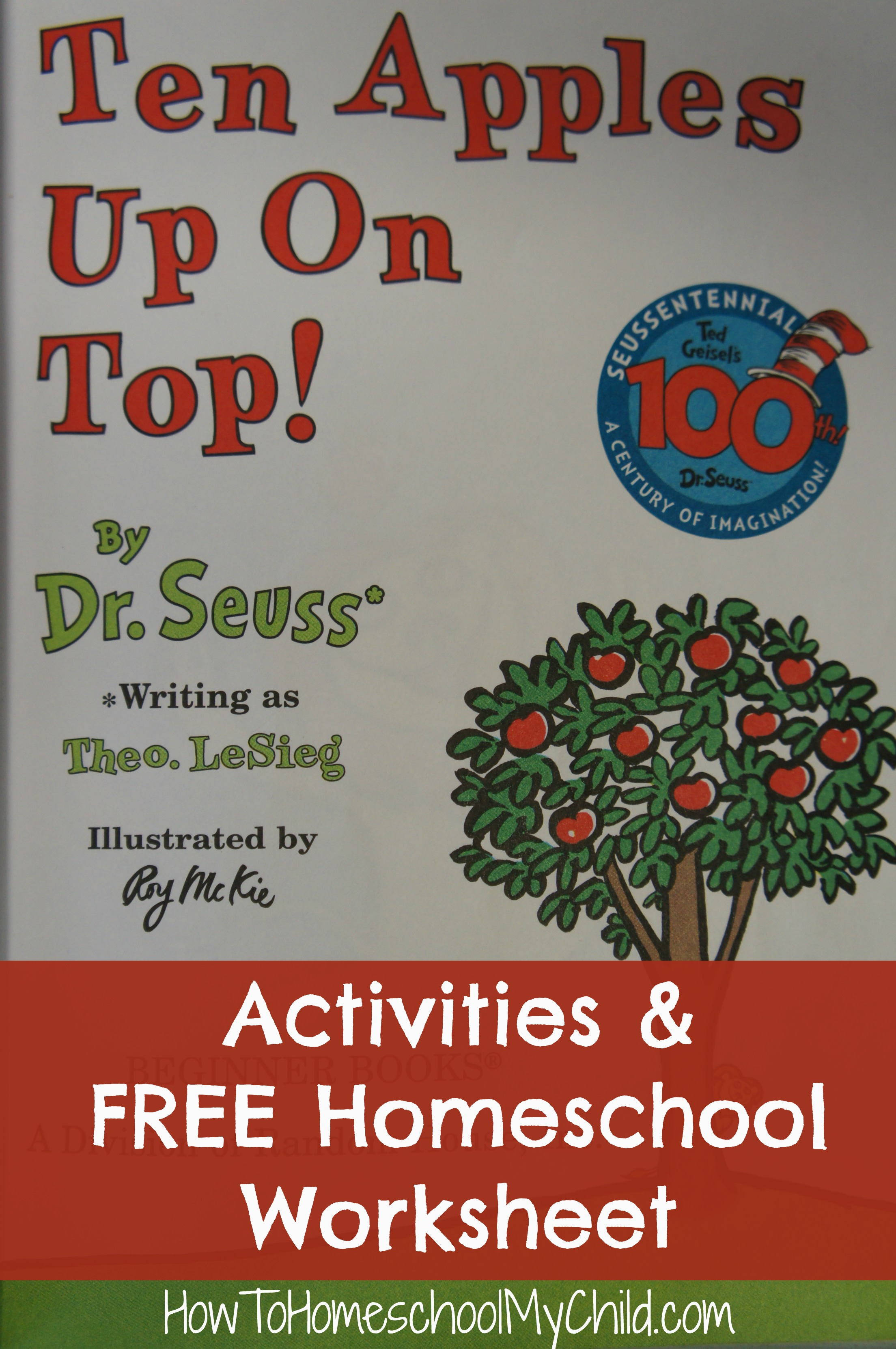 Ten Apples On Top Activities