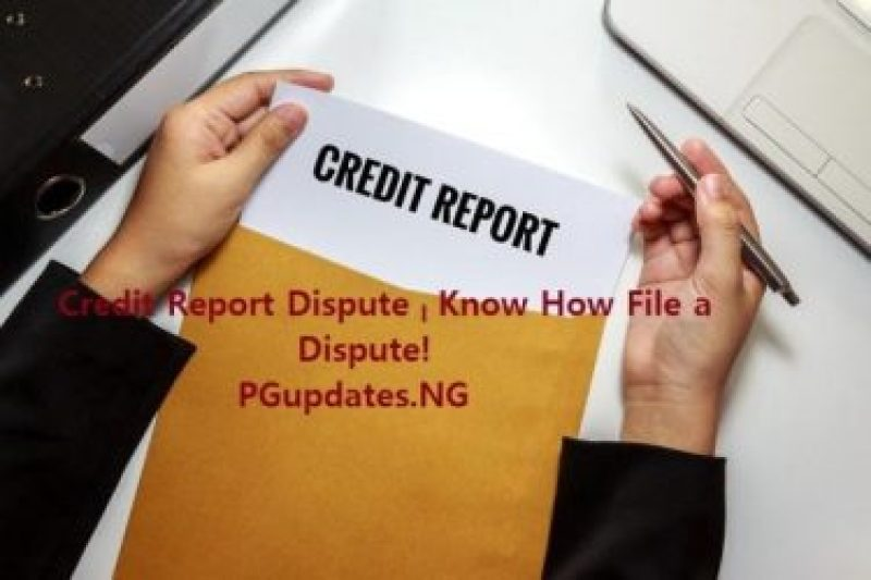 Credit Report Dispute – Know How File a Dispute