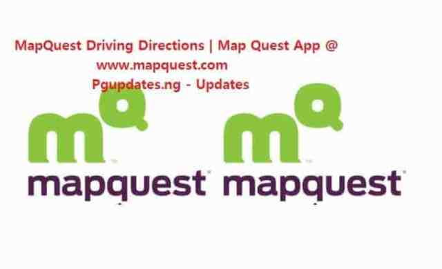 MapQuest Driving Directions | Map Quest App @ www.mapquest.com