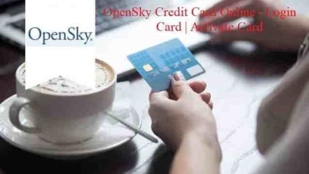 OpenSky Credit Card Online - Login OpenSky Card | Activate Card
