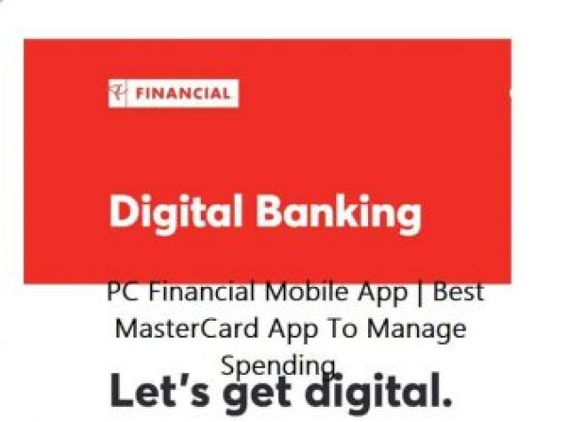 PC Financial Mobile App   Best MasterCard App To Manage Spending