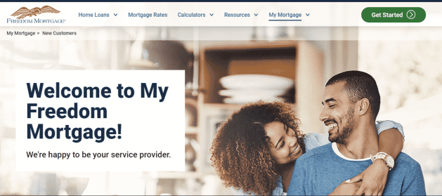 Freedom Mortgage Corporation - My Freedom Account Login