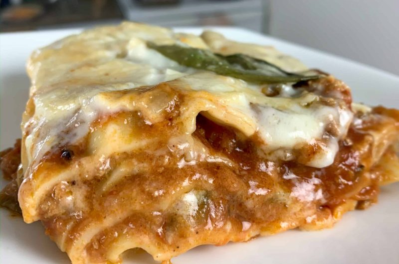 The Only Turkey Lasagna Recipe You'll Ever Need