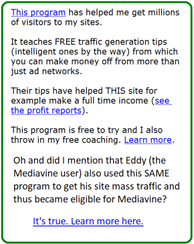 how to become eligible for mediavine ads
