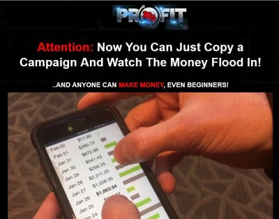 profit 365 review screenshot