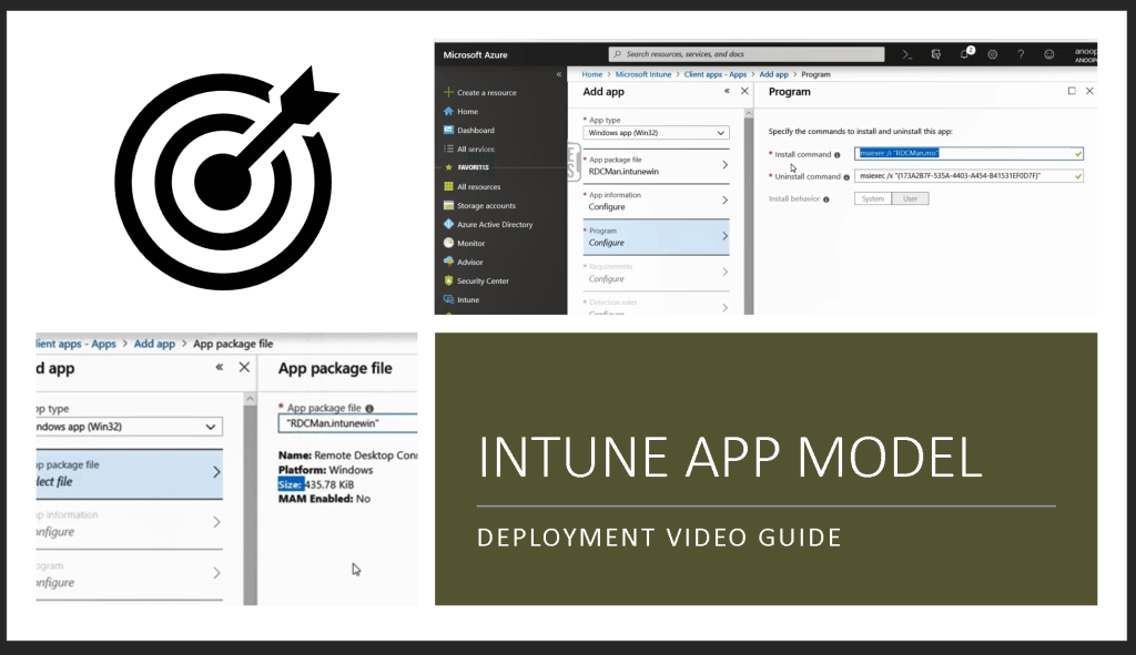 Intune Application Model Deployment Guide