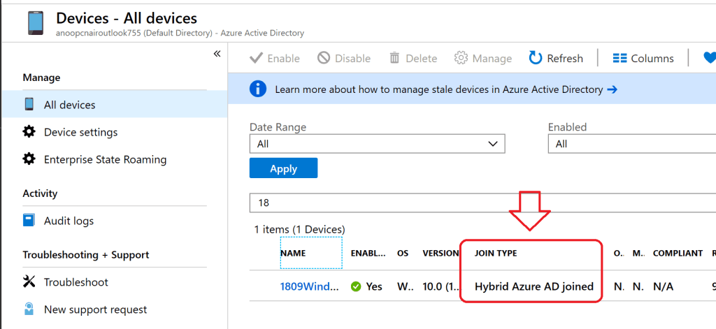 SCCM Collection AAD Group Sync - Hybrid Azure AD joined