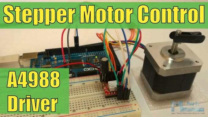 A4988 stepper motor driver carrier arduino code for A4988 stepper motor driver