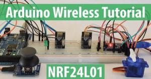 Arduino Wireless Communication  NRF24L01 Tutorial  HowToMechatronics