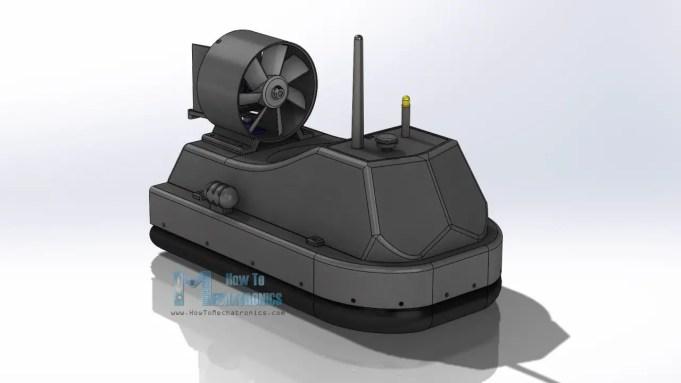Hovercraft 3D Model - Free download