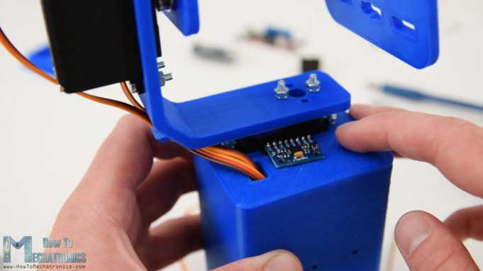 Arduino Self-Stabilizing Platform with MPU6050 sensor