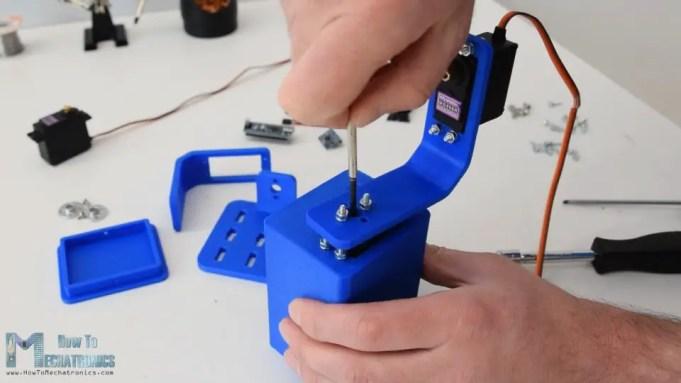 Assembling the Arduino gimbal