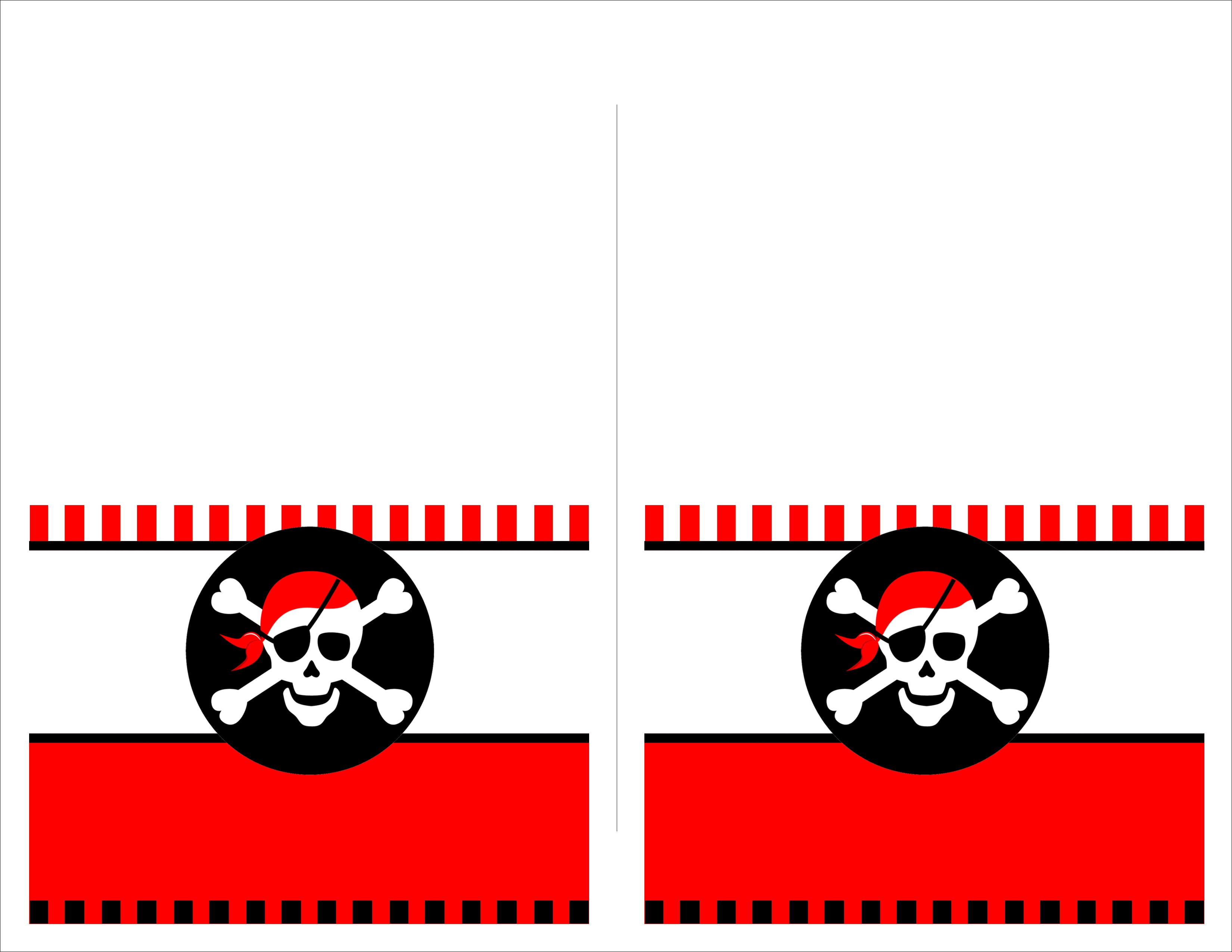 Pirate Birthday Party With Free Printables