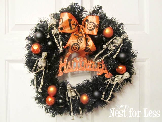 {Guest Post} Halloween Wreath From How To Nest For Less