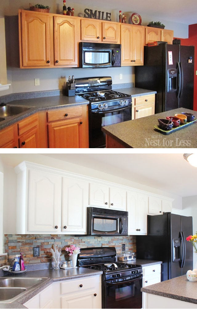 Kitchen Cabinet Makeover Reveal How To Nest For Less
