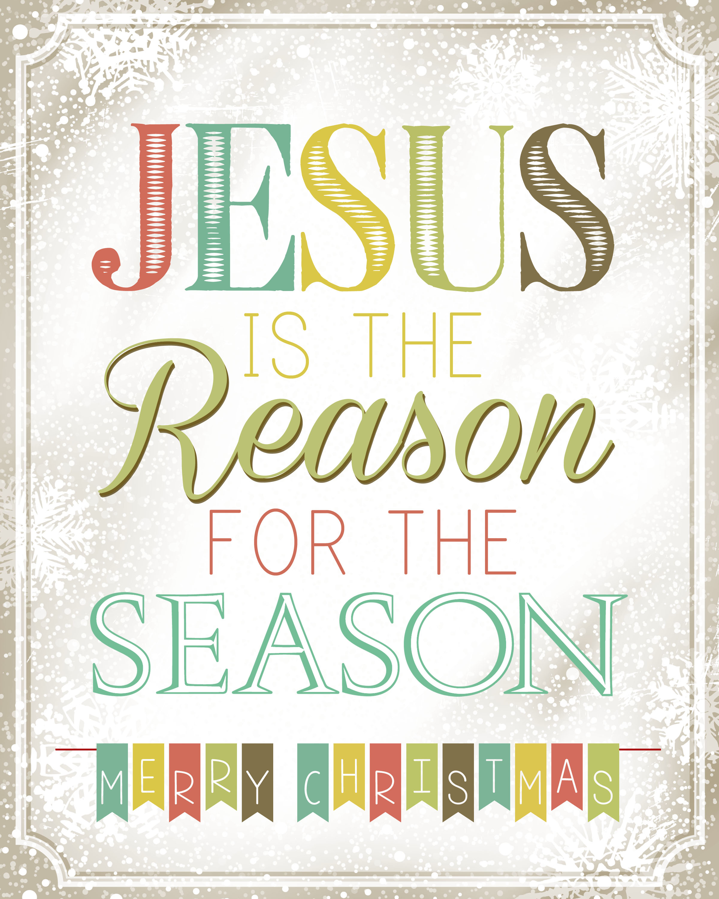 Image result for the reason for the season