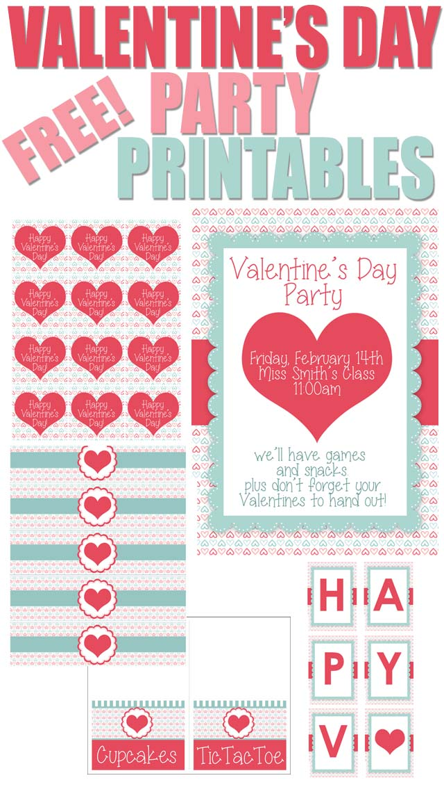 Valentines Day FREE Printables How To Nest For Less