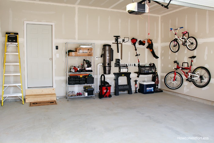 Garage Organization - How to Nest for Less™ on Organized Garage  id=35418