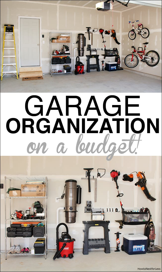 Garage Organization - How to Nest for Less™ on Organized Garage  id=57011