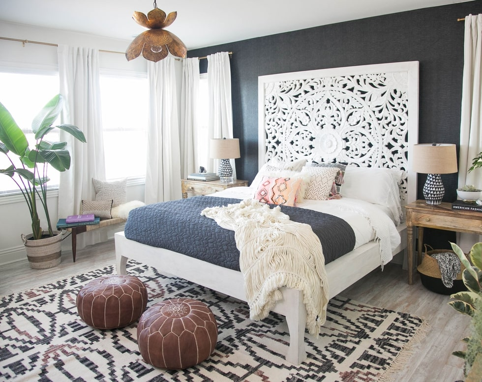 20 Master Bedroom Makeovers - Decorating Ideas and Inspiration on Makeup Bedroom  id=20925