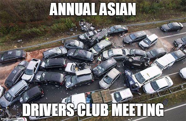 Massive car accident